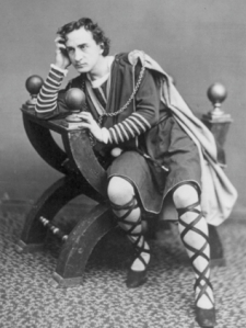 Broadway's most famous Hamlet, Edwin Booth photo courtesy of the Players Club